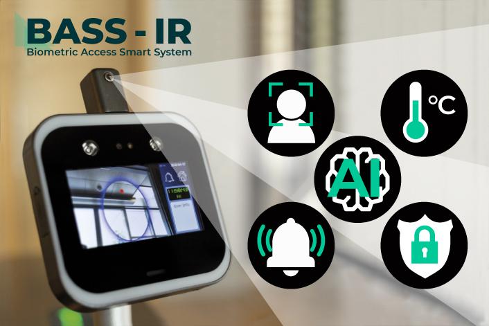 isonlab: sistema biometrico contactless per la misurazione della temperatura e la gestione accessi
